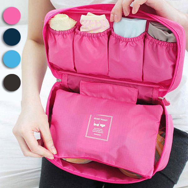 Multifunctional Makeup Organizer Travel Portable Bra Underwear Lingerie Storage Box Cosmetic Bag Toiletry Wash Bag #clothing,#shoes,#jewelry,#women,#men,#hats,#watches,#belts,#fashion,#style
