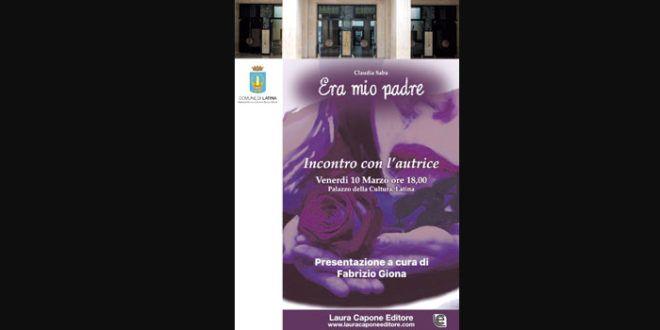 Il debutto di Claudia Saba scrittrice apre il programma di eventi al Palacultura