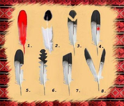 17 meilleures id es propos de symboles am rindiens sur pinterest tatouages am rindiens - Signification des plumes d oiseaux ...