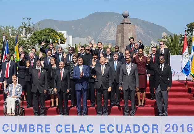 En la IV Cumbre de Jefes de Estado y de Gobierno de la CELAC el compromiso es convertir a América Latina y el Caribe como Zona de Paz.
