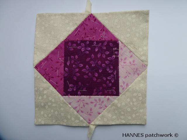 4. del af det gratis mønstre fra HANNES patchwork sommer DHU- er du klar ??