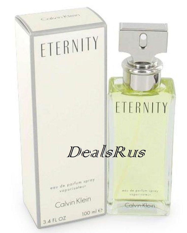 Eternity Perfume by Calvin Klein 3 4 oz EDP for Women New Box SEALED 088300105304 | eBay