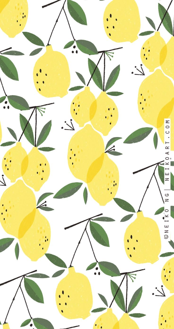Pin by gabby on lemons (With images) | Iphone background ...