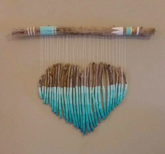 {Macrame Driftwood QUALITY Strong Sturdy Maine Driftwood Etsy Macrame Driftwood QUALITY Strong