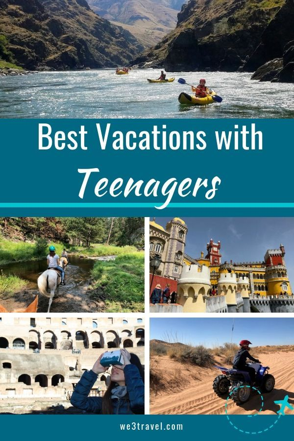 Vacation packages for teens