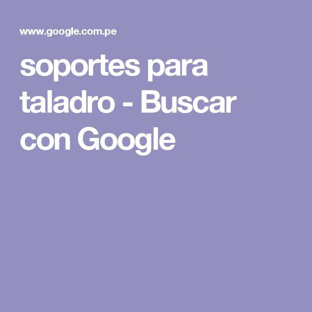 soportes para taladro - Buscar con Google