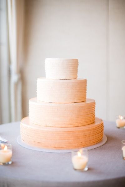Wedding cake: http://www.stylemepretty.com/massachusetts-weddings/mashpee/2015/02/16/whimsical-cape-cod-beach-wedding/   Photography: Melissa Robotti - http://www.melissarobottiphotography.com/