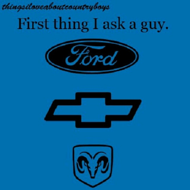 Ford, Chevy, or dodge. | Truck quotes, Country quotes ...