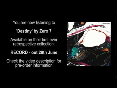 Zero 7: Destiny - When I'm weak I draw strength from you  And when you're lost I know how to change your mood  And when I'm down you breathe life over me  Even though we're miles apart we are each other's destiny