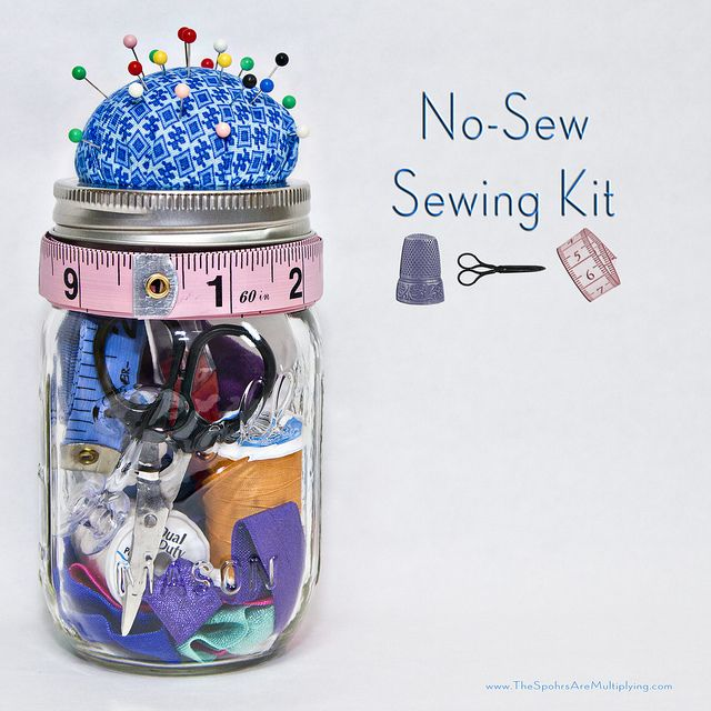 DIY No-Sew Sewing Kit - The Spohrs Are Multiplying