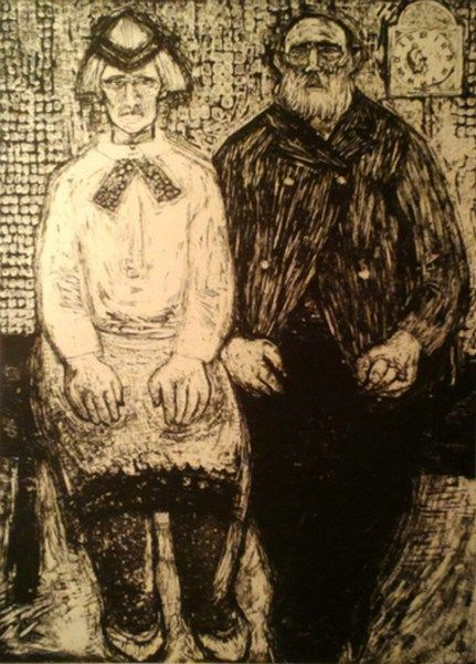 Виве Толли (Вийве Вальтеровна Толли) родилась в 1928 году. Художница представляет эстонскую графику. Впервые Виве Толли выставила свои работы в 1953 году.