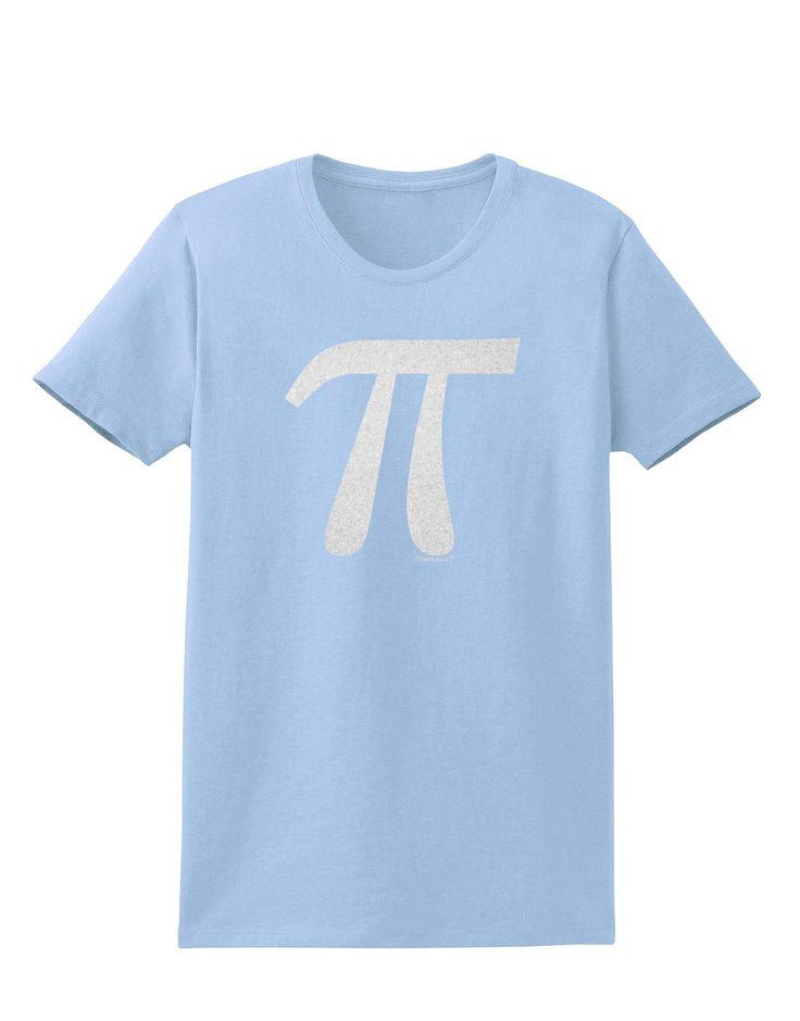 Pi Symbol Glitter - White Womens T-Shirt by TooLoud