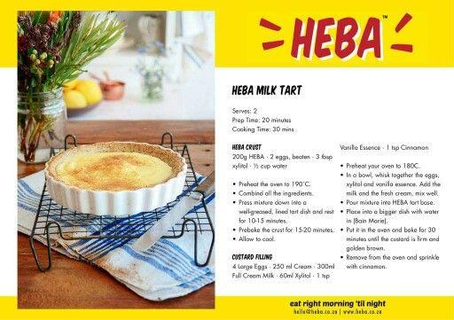 Heba milk tart