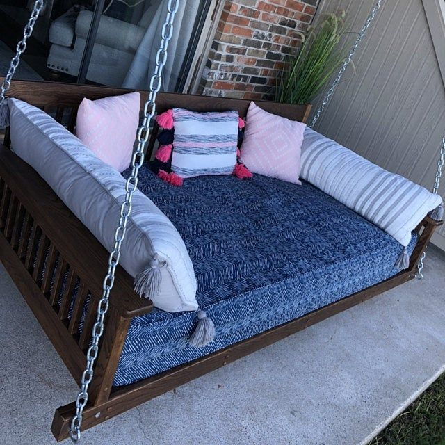 Outdoor Mattress Cover Porch Swing Cover Daybed Cover Bolster Cover Pillow Cover Mattress Cover Free Shipp In 2020 Outdoor Mattress Daybed Covers Mattress Covers