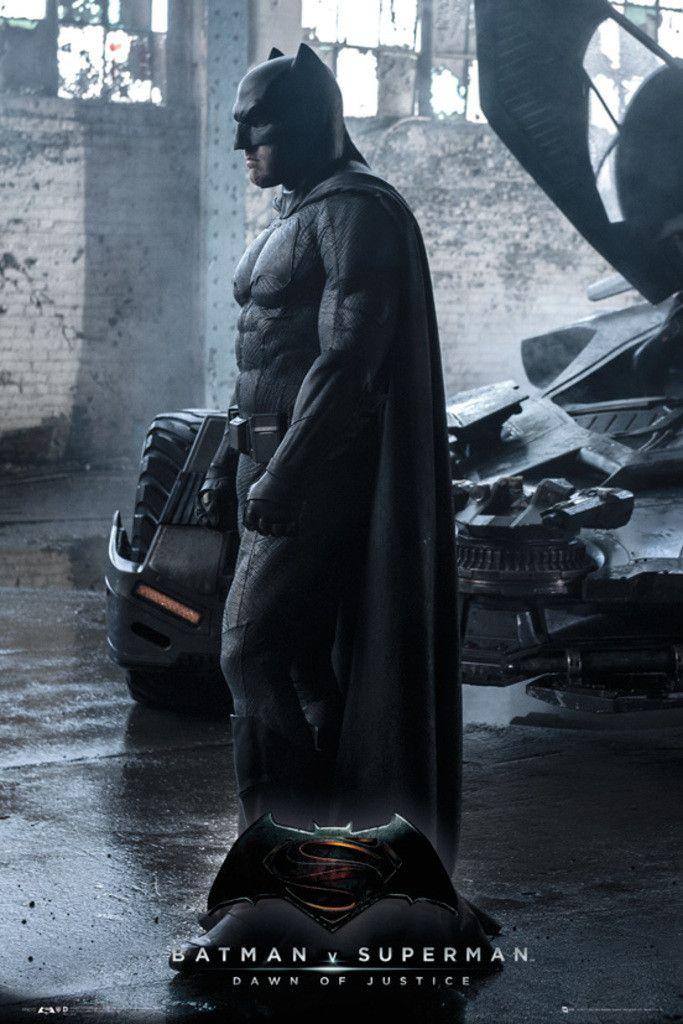 Batman Vs Superman Batman - Official Poster. Official Merchandise. Size: 61cm x 91.5cm. FREE SHIPPING