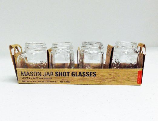 75 best images about kitchen accessories on pinterest tea cart shot glasses and fortune telling - Mason jar goblets ...