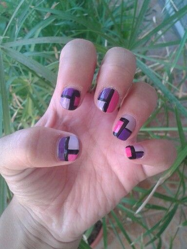 Uñas Geometricas!