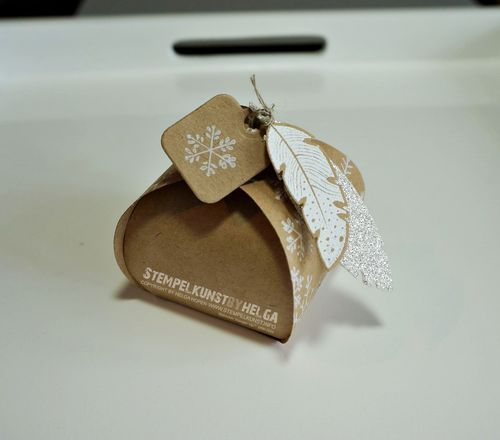 curvy keepsake thinlit / Zierschachtel Thinlit Stampin up und four Feathers Stempel und Framelits