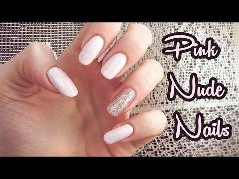 Tutorial : Ružové trblietavé nechty | Pink Nude Glitter Nails - http://www.nailtech6.com/tutorial-ruzove-trblietave-nechty-pink-nude-glitter-nails/