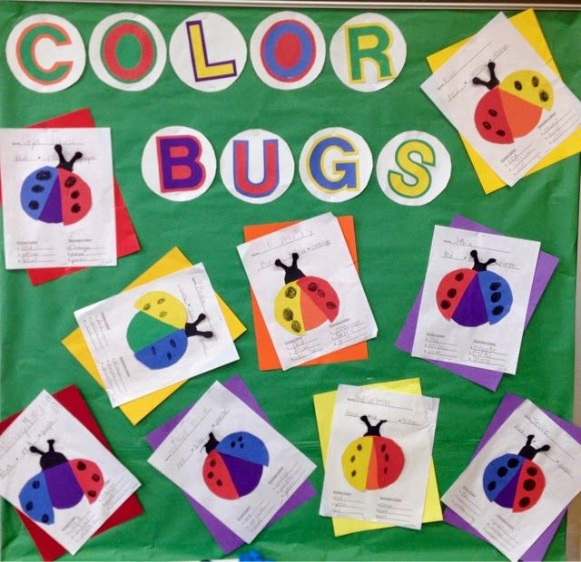 1st grade color bugs-primary and secondary colors-Art with Mr. Giannetto blog