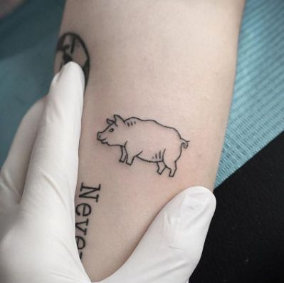 23 best stick and poke animal tattoos images on pinterest animal tattoos hand poked tattoo. Black Bedroom Furniture Sets. Home Design Ideas