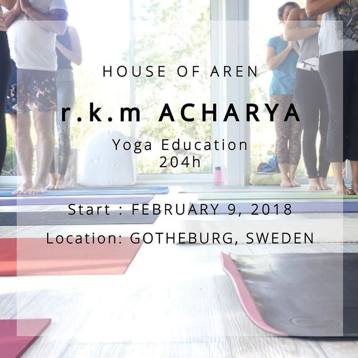 EDUCATION | The course is open for all levels. Those who already practice yoga as well as for anyone that wants to study this art and science. It may be for personal growth and/or for educating yoga to others.  TEACHER | @ratheeshacharya  #yogateachertraining #ytt #rkmacharyayoga #layayogasystem #yoga #yogasweden #yogateacher #yogagothenburg #yogagöteborg #yogasverige #yogaeducation