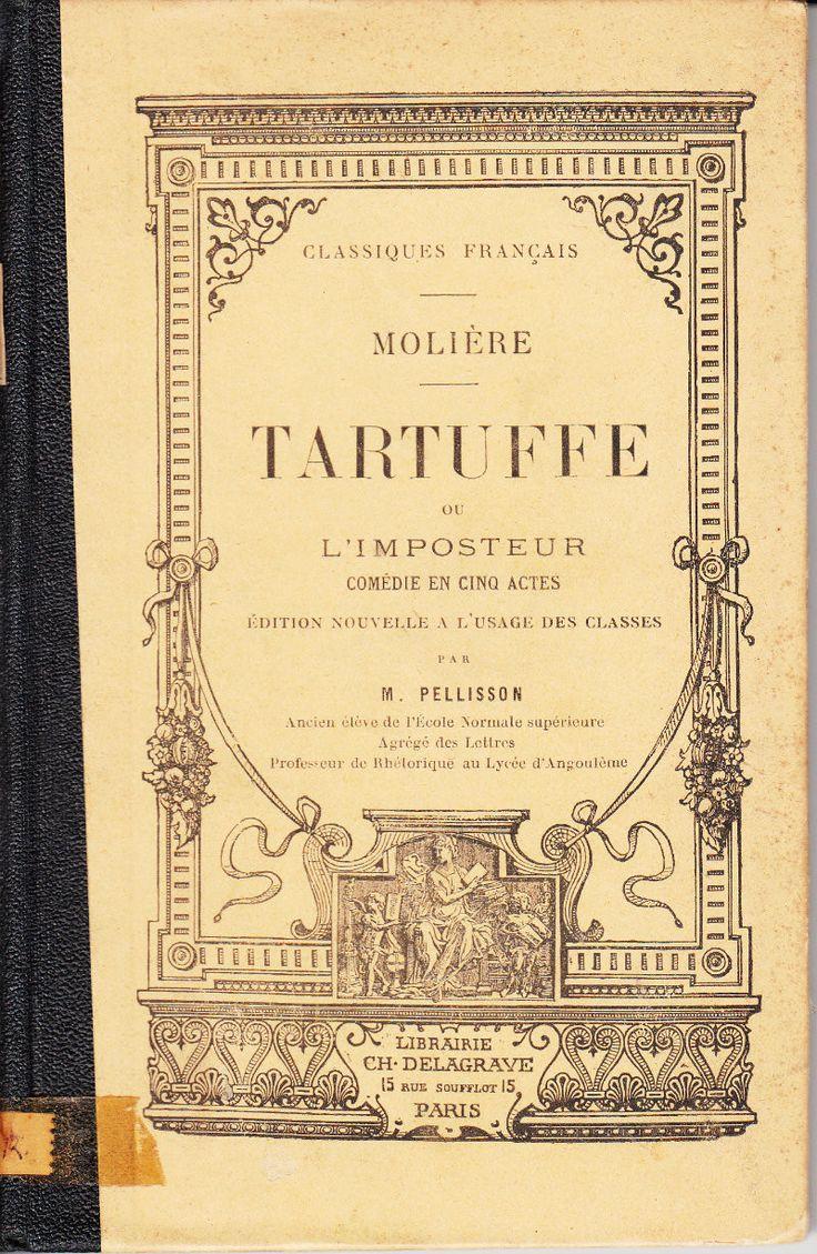 Tartuffe ou L'imposteur: Comedie en Cinq Actes