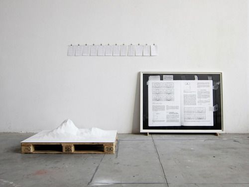 """""""Bleecker Street Documents can be read as a fragmented space description. The project was recorded in an apartment in Manhattan (New York) with a radio wave measuring instrument over a period of 45 days. The installation deals with the attempt to make the invisible coating of a physical real-space through """"WLAN-Wireless Local Area Network"""" visible."""" (via BLEECKER STREET DOCUMENTS 