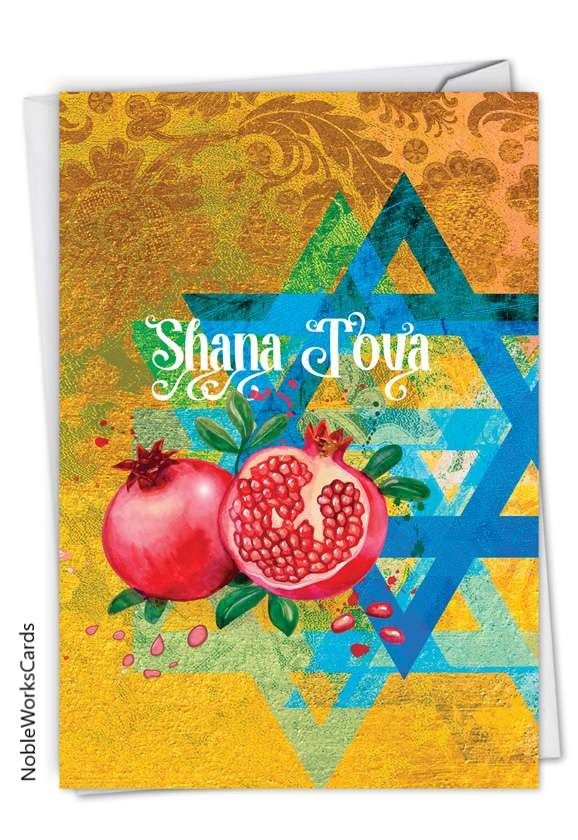 Shana Tova In 2020 New Year Greeting Cards New Year Card New Year Text
