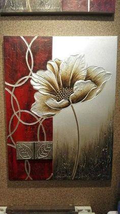 Heavy-texture-flower-pictures-Wall-Art.jpg 421×750 pixeles