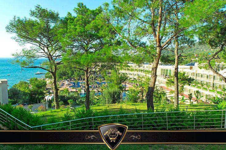 Doğa ile iç içe ve huzur dolu bir ortam sizi bekliyor. #Vogue #Hotel #Bodrum