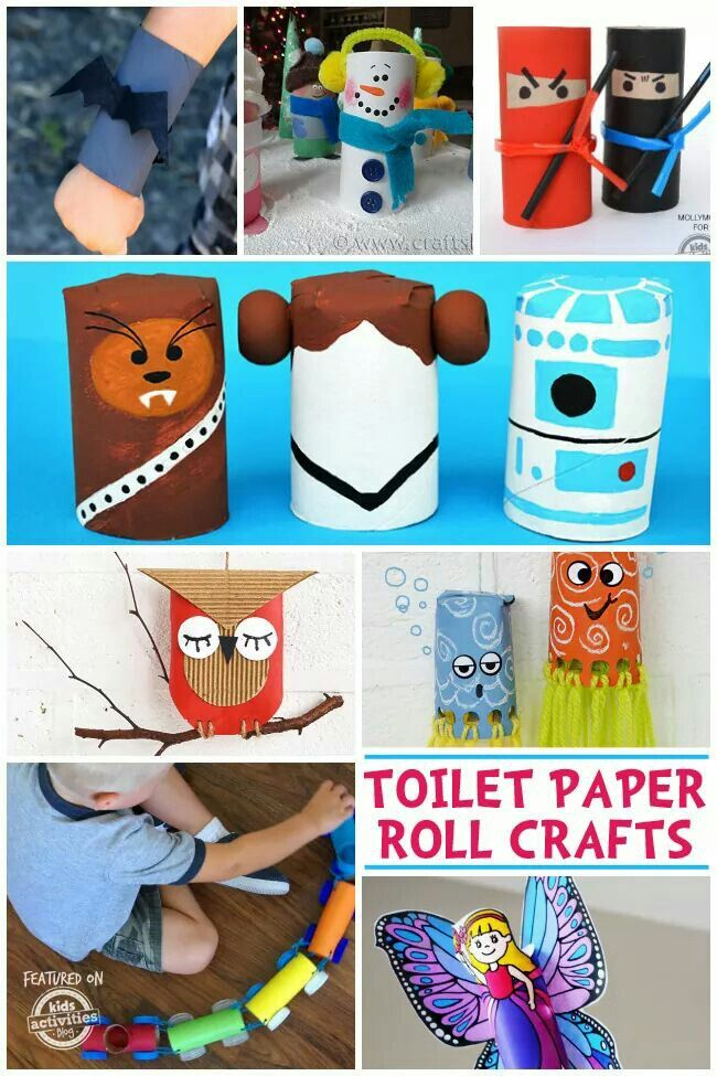 132 best images about craft ideas i like on pinterest for Fun crafts with toilet paper rolls