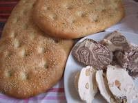 σπιτική λαγανα: Flats Breads, Breads Recipe, Fastingl Recipe, Greek Food, Greek Cooking, Fast Food, Greek Breads, Favorite Recipe, Lenten Food