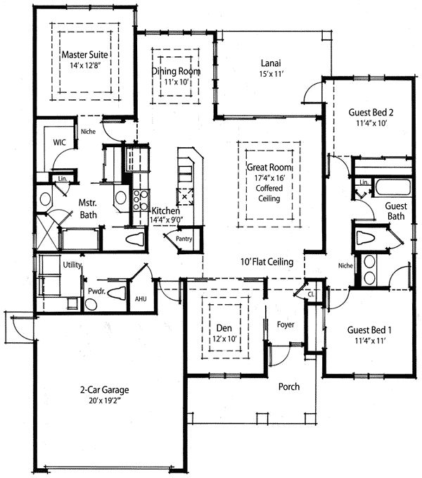 56 best images about for the home floor plans on pinterest for Economical ranch house plans