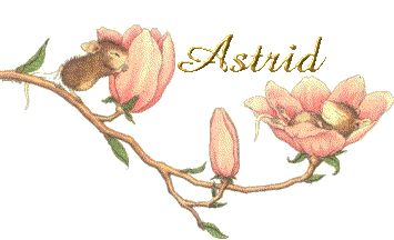 """Astrid, female name, means """"fair, beautiful goddess,"""" of Old Norse origin."""