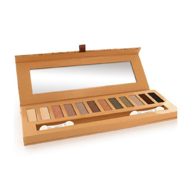 Natuurlijk oogschaduw palet eye essential 1.(12 kleuren) incl. penseel