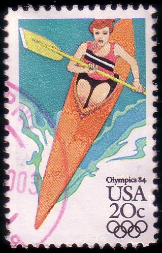 Stamp from USA | Los Angeles 1984, Olympic Games