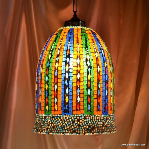 144 best mosaic lamps or lights images on pinterest chandeliers turkish mosaic candle holders audiocablefo