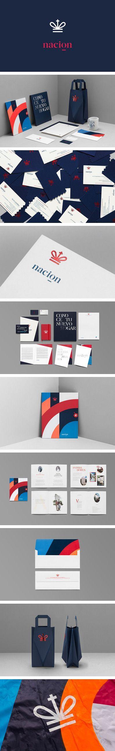 Nacion Real estate branding | Branding | Pinterest