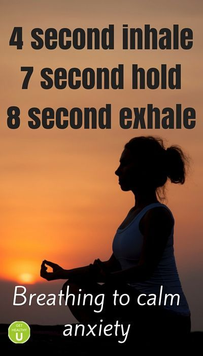 4-7-8-Breath-Infographic-Calm-Anxiety: http://gethealthyu.com/ways-to-relax-less-than-five-minutes Pinned for you by https://organicaromas.com