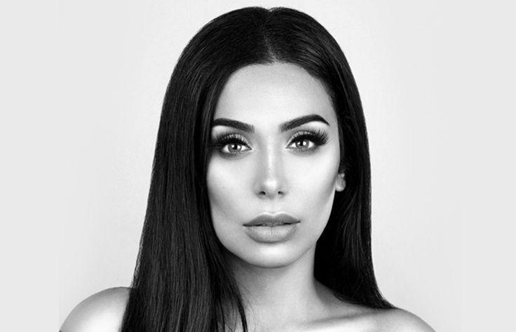Desde 2010 es una figura reconocida en redes sociales, pero fue hasta hace poco que alcanzó 11 millones de followers en Instagram gracias a su gran parecido con la esposa de Kanye West.