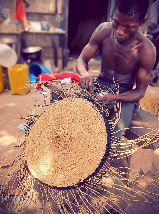 Weaving the Fra Fra region