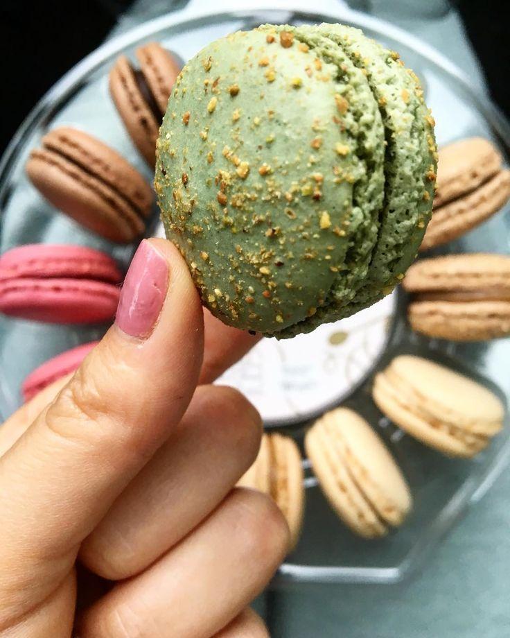 Pistachio macaron  #macarons #treats #iamthankful