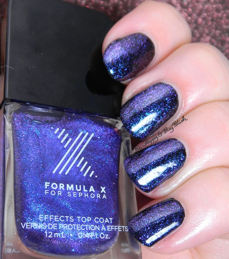 Sephora Formula X Kaleidoscope | Be Happy And Buy Polish http://behappyandbuypolish.com/2015/07/17/sephora-formula-x-kaleidoscope-and-chroma-zone-swatch-review/