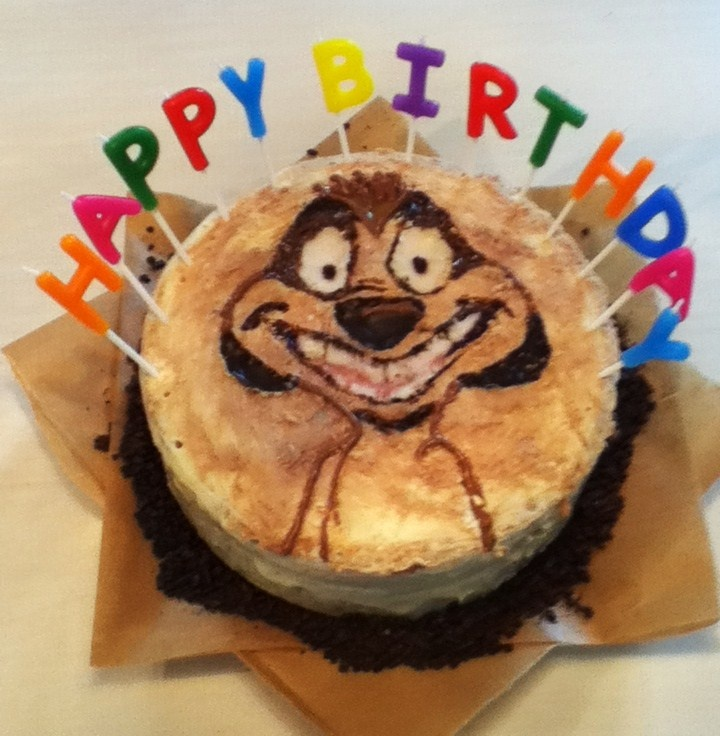 disney timon birthday cake