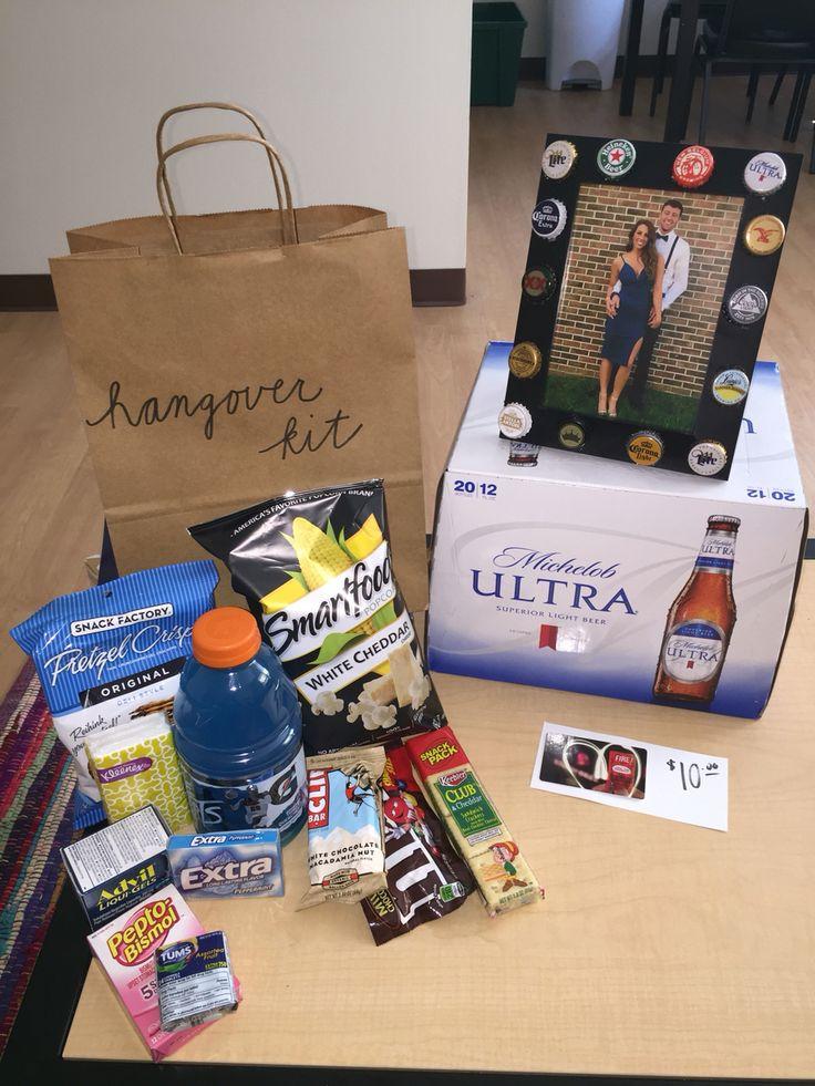 21st Birthday Boyfriend Gift Twenty First Bday Hangover Kit