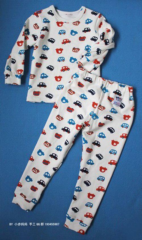 Patron para hacer pijamas para ni os ni os costura - Jerseys faciles de hacer ...