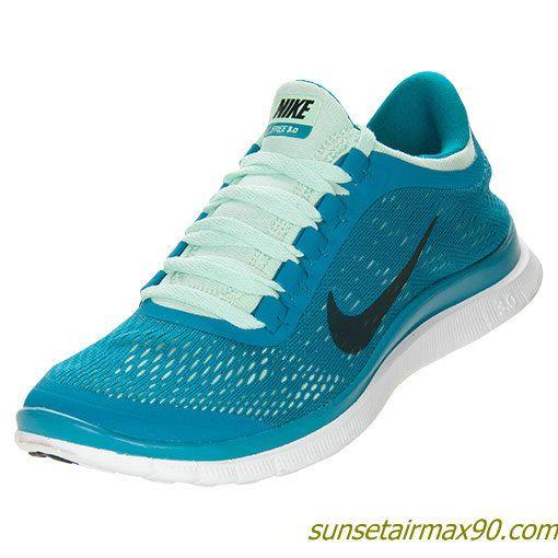 Nike Free 30 V5 Womens Tropical Teal Black Green White 580392 303