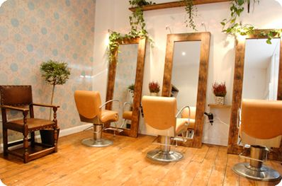Small Salon Design | Malishi is a small independent hair salon in Snowsfields that takes ...