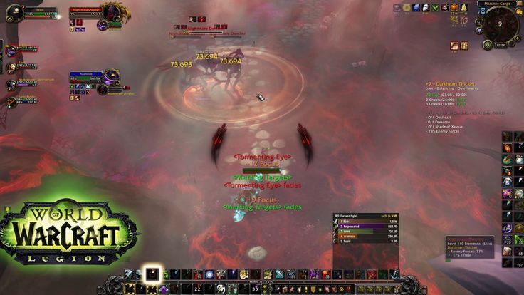 World Of Warcraft - Darkheart Thicket +7 Mythic Keystone 3 chest (ilvl 9...